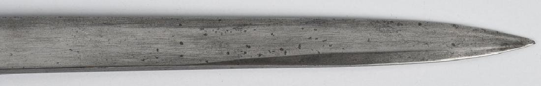 TRENCH ART ALUMINUM HANDLE SHORT SWORD - 7