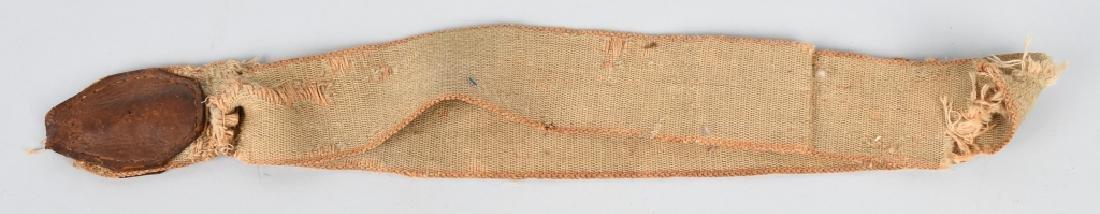 1870s A.T. BAIRD BRASS & WOOD DRUM w/ STICKS - 8