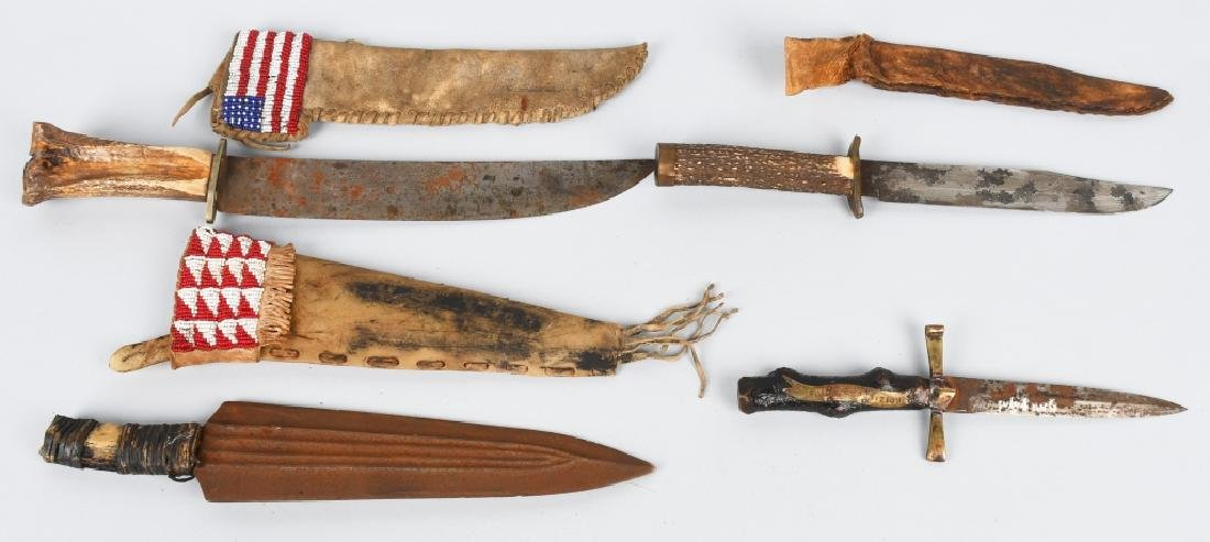 4- EARLY KNIVES