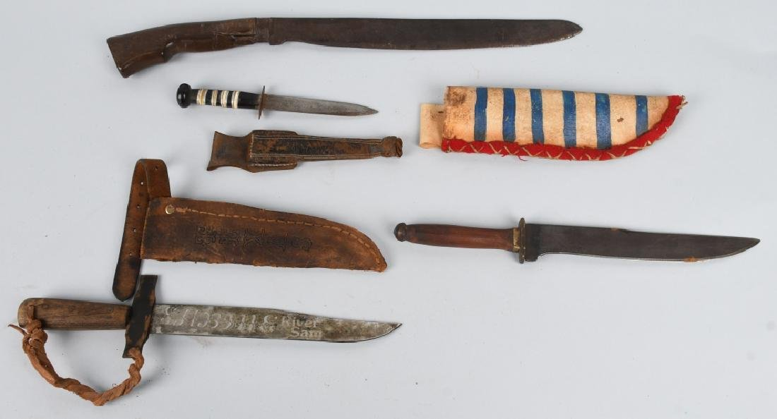 4- EARLY KNIVES