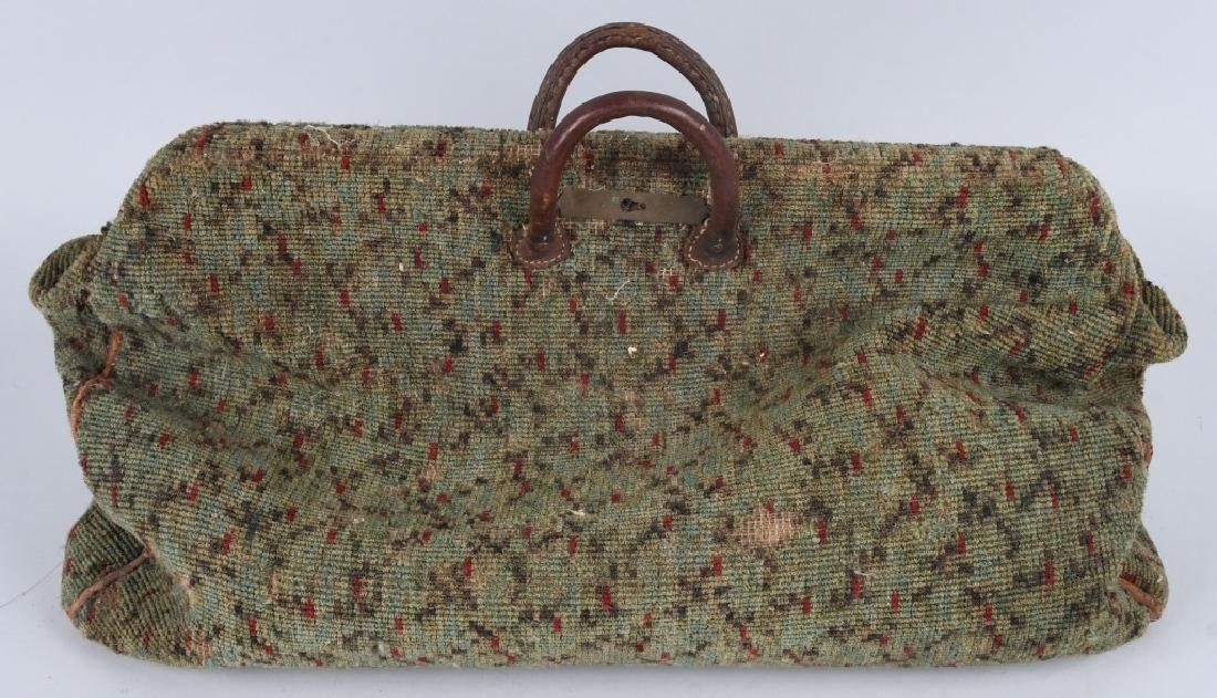 19th CENTURY CARPET BAG