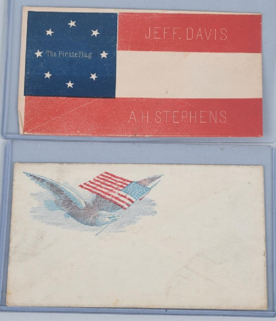 CIVIL WAR ENVELOPES & STENCIL - 2