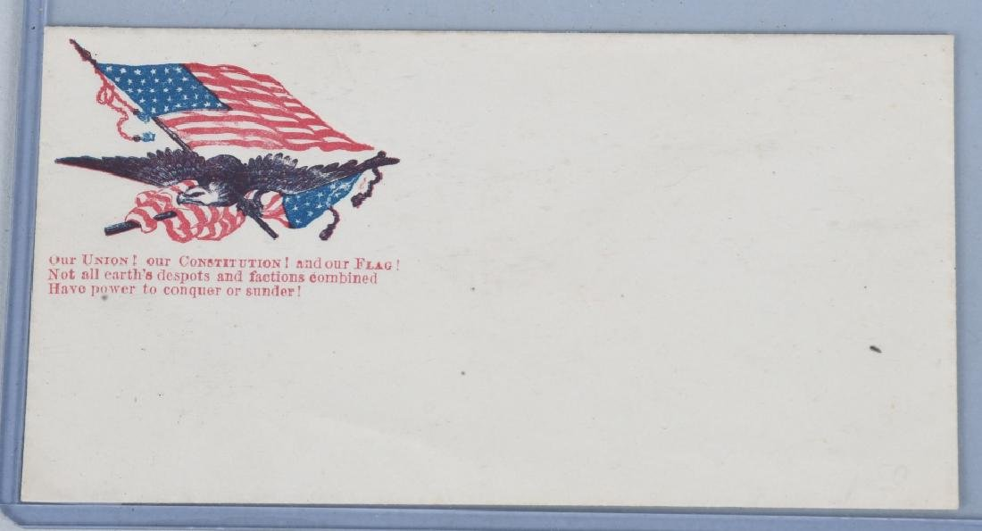 CIVIL WAR ENVELOPES & STENCIL - 3