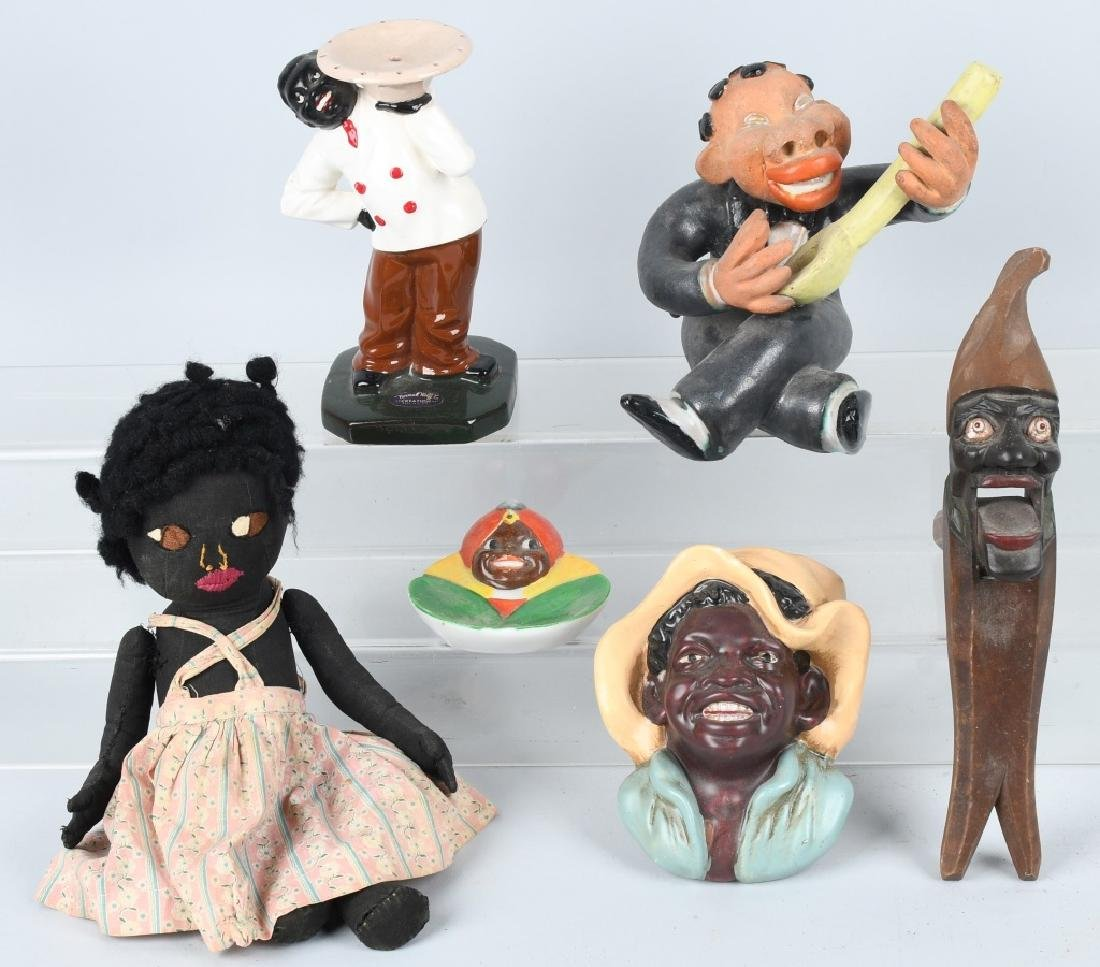 BLACK AMERICANA GROUPING, DOLLS and MORE