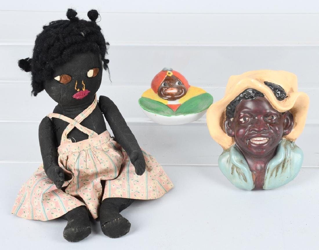 BLACK AMERICANA GROUPING, DOLLS and MORE - 8