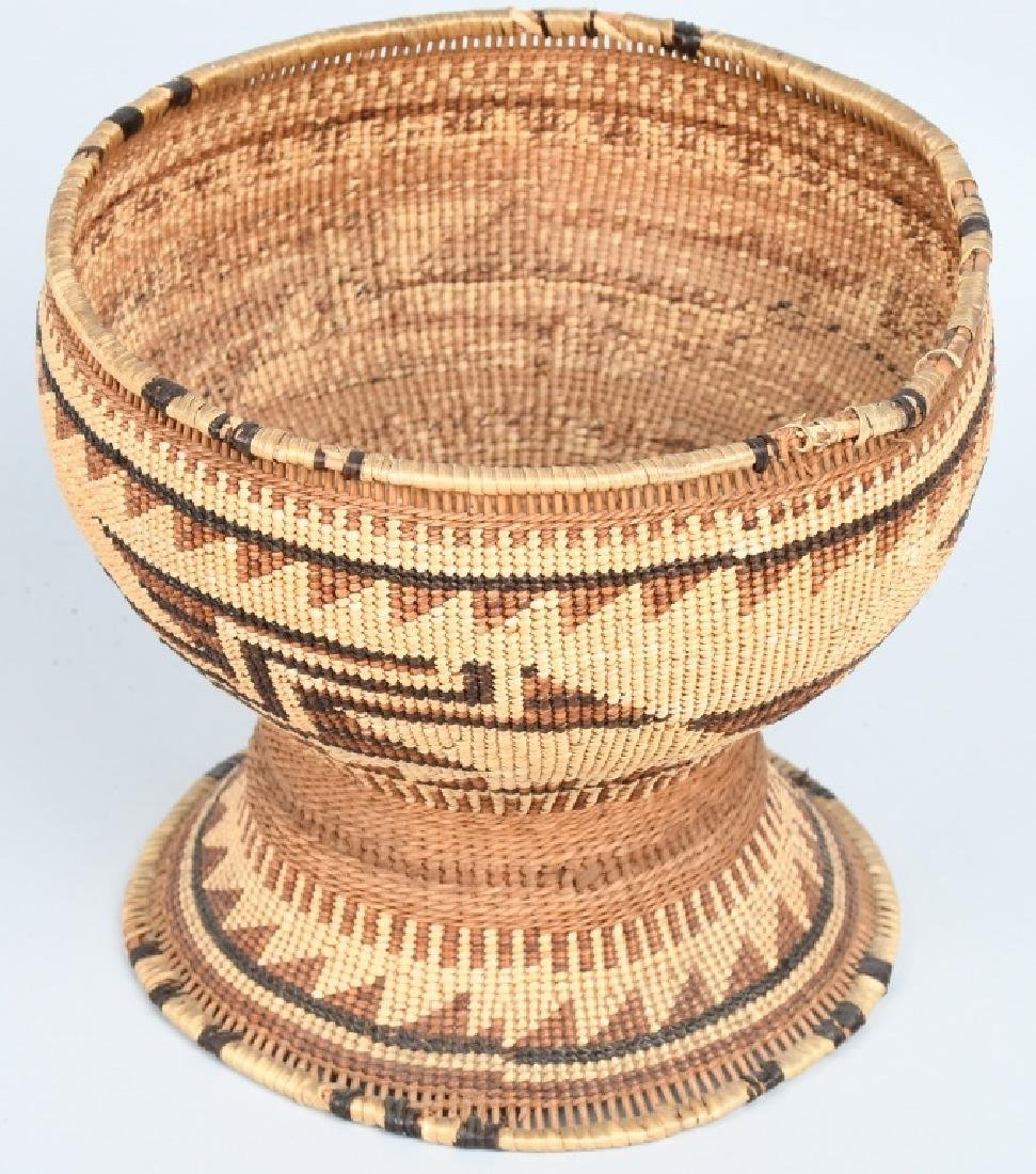 4- INDIAN BASKETS & INDIAN POTTERY VESSEL - 2