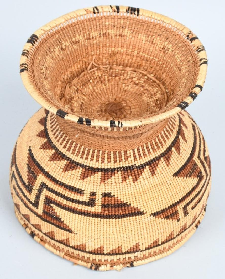 4- INDIAN BASKETS & INDIAN POTTERY VESSEL - 5