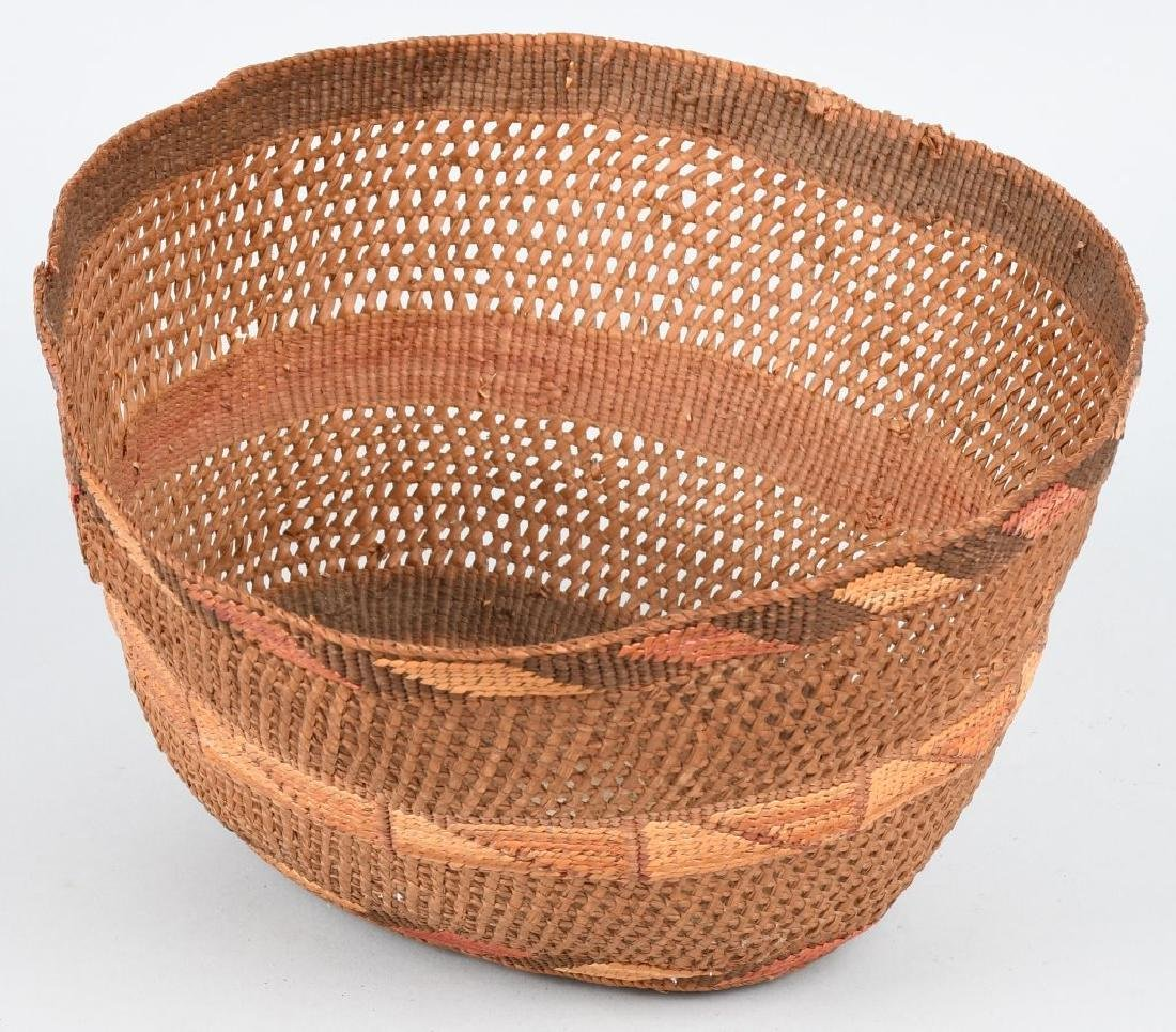 4- INDIAN BASKETS & INDIAN POTTERY VESSEL - 8