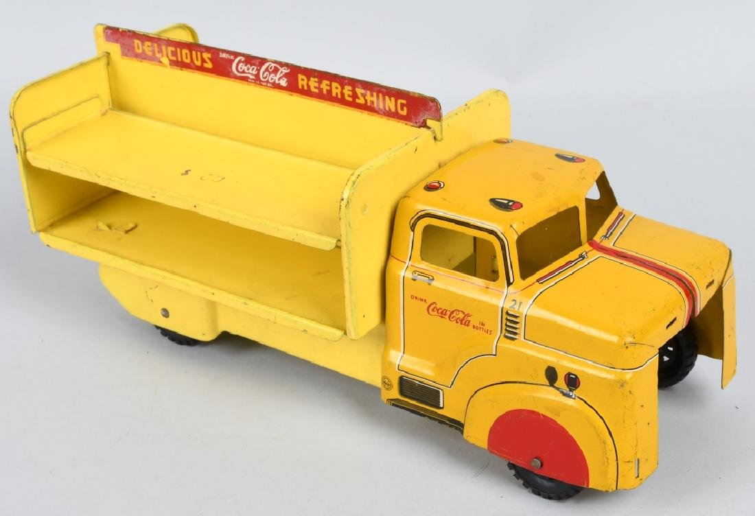 MARX TOY COCA COLA DELIVERY TRUCK - 4