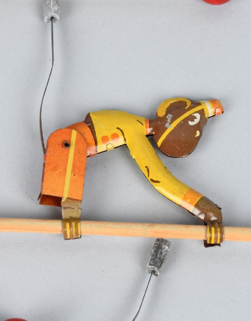 6-VINTAGE TIN TOY CLIMBING MONKEYS - 5