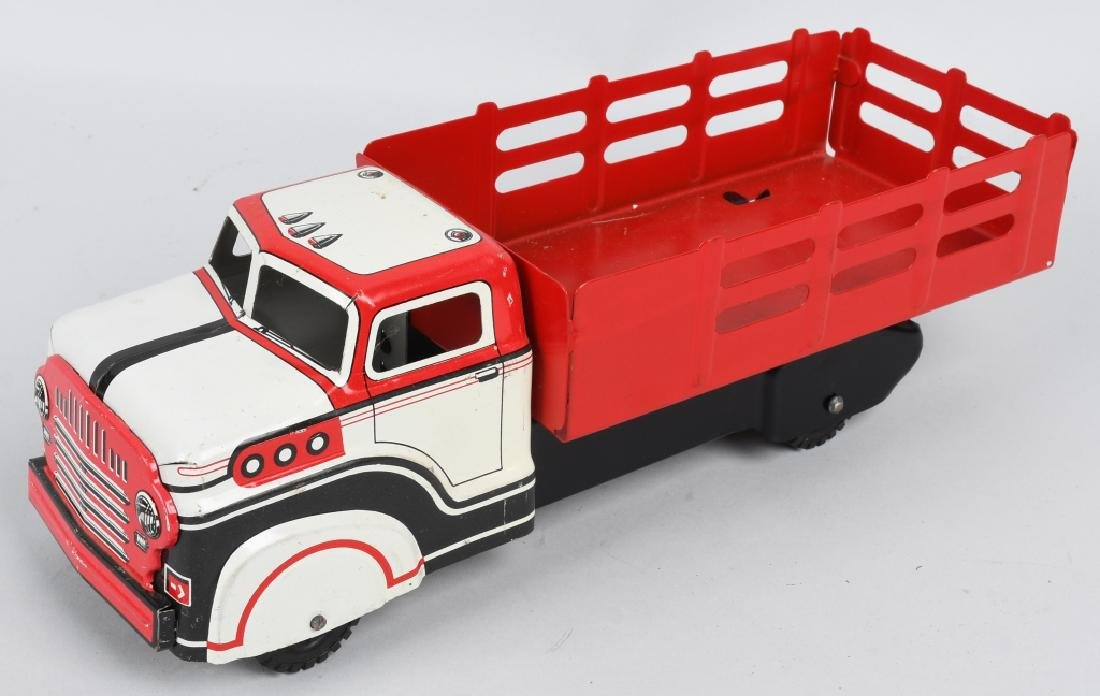 MARX TOY STAKE BED TRUCK