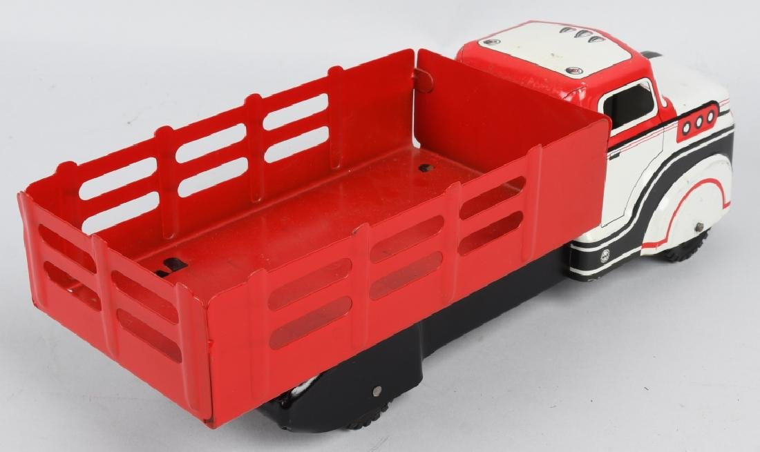 MARX TOY STAKE BED TRUCK - 3