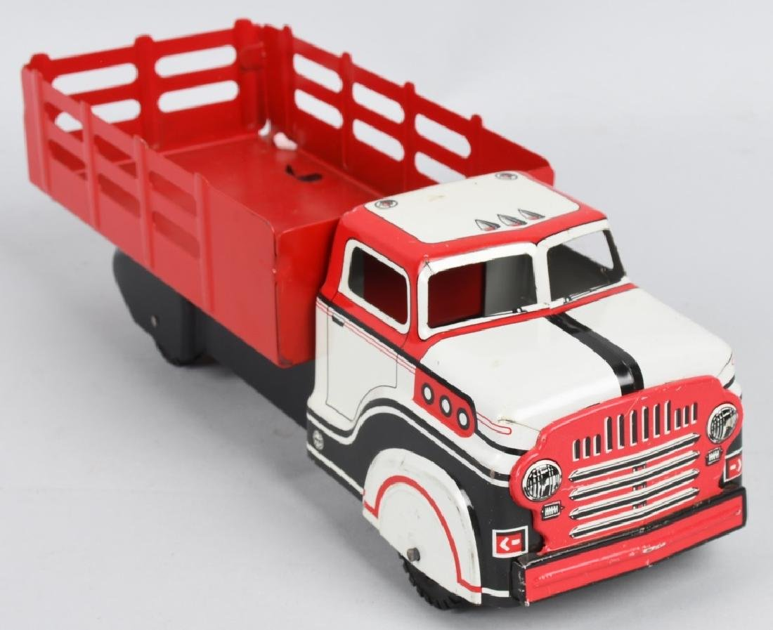 MARX TOY STAKE BED TRUCK - 4