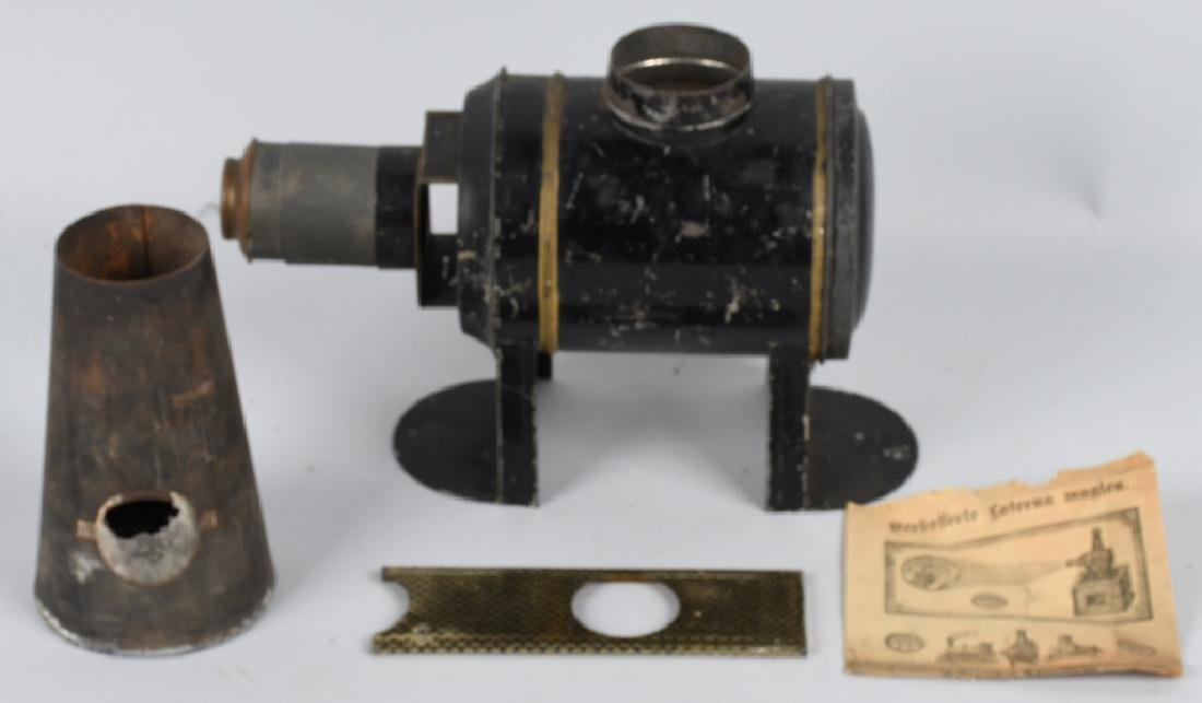 1890s ERNEST PLANK MAGIC LANTERN w/ BOX - 2