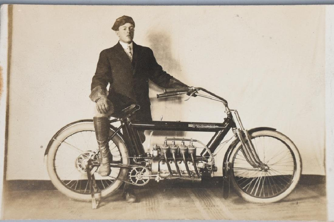 7- EARLY ORIGINAL MOTORCYCLE PICTURES - 2