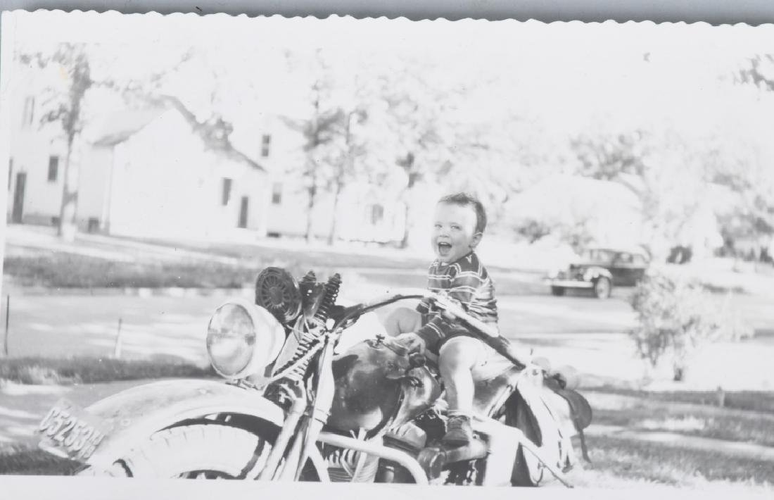 7- EARLY ORIGINAL MOTORCYCLE PICTURES - 3