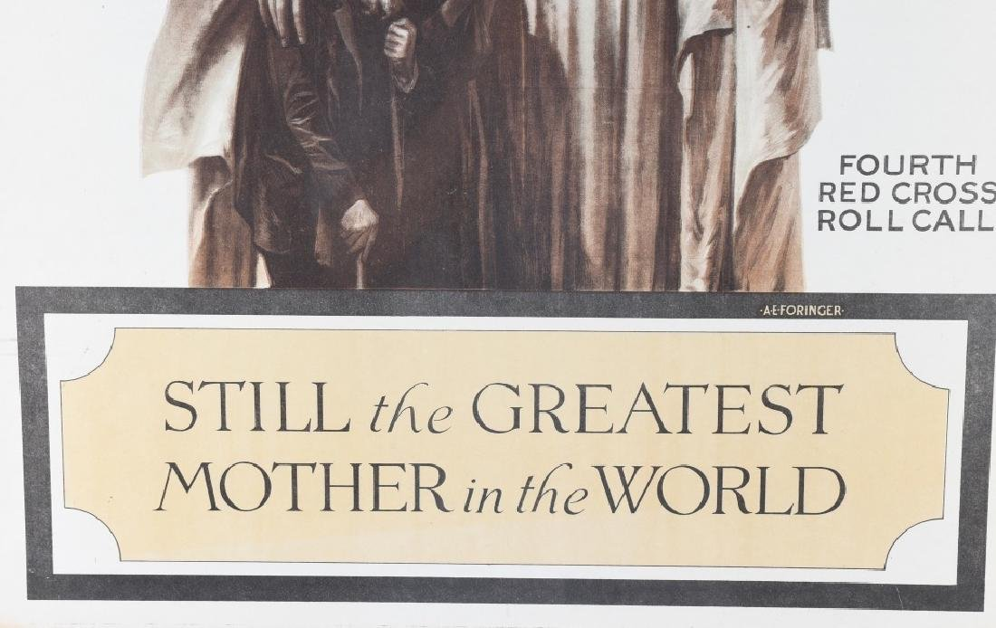 WW1 RED CROSS GREATEST MOTHER POSTER - 4