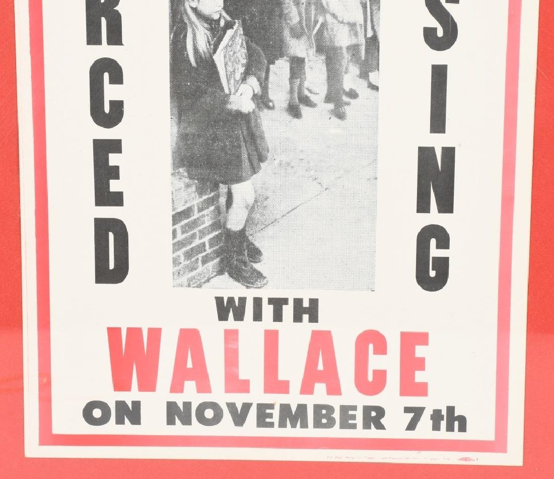GEORGE WALLACE PREVENT FORCED BUSING POSTER - 3