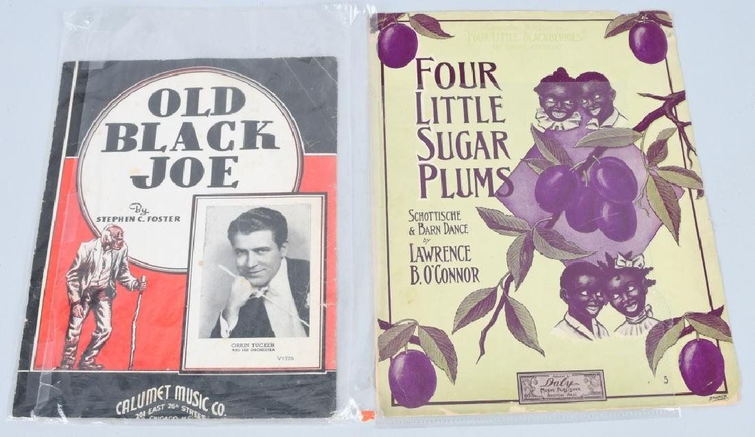 LOT OF BLACK AMERICANA SHEET MUSIC - 3