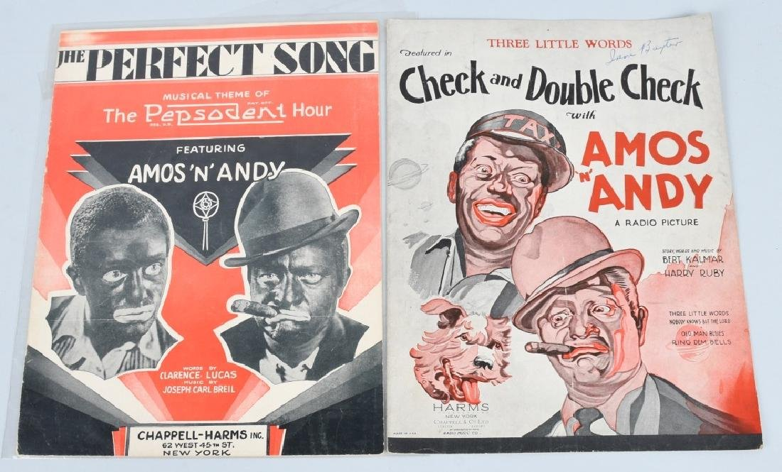 LOT OF BLACK AMERICANA SHEET MUSIC - 6
