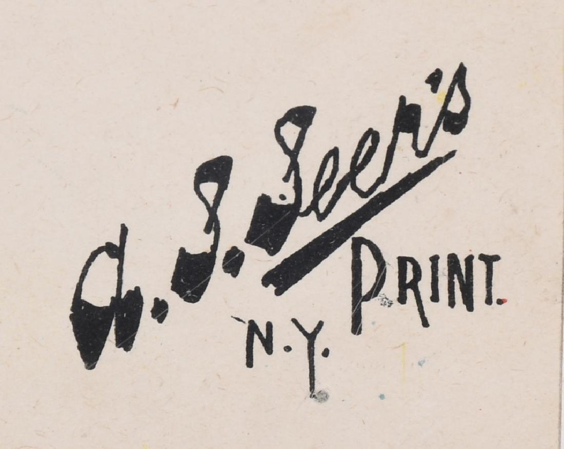 1893 DARK CONTINENT THEATER POSTER JUDAICA - 5