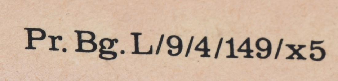 1941 JEW HOLDING NOOSE ANTI-SEMITIC POSTER - 5
