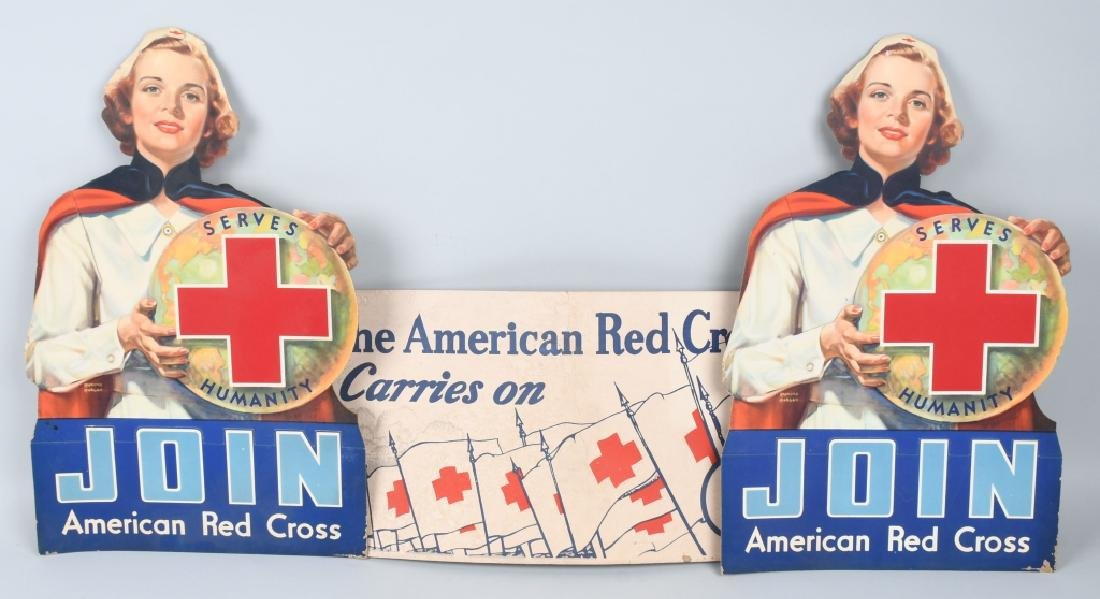 3- JOIN THE RED CROSS DIECUT SIGNS & MORE