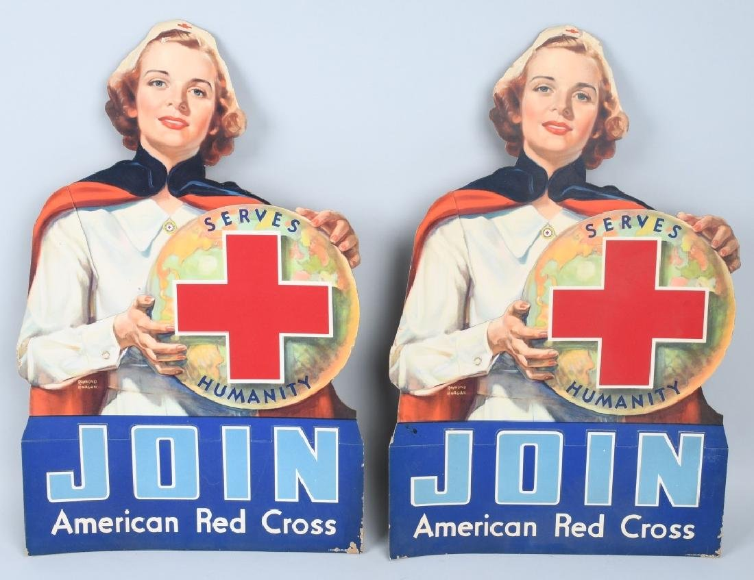 3- JOIN THE RED CROSS DIECUT SIGNS & MORE - 3