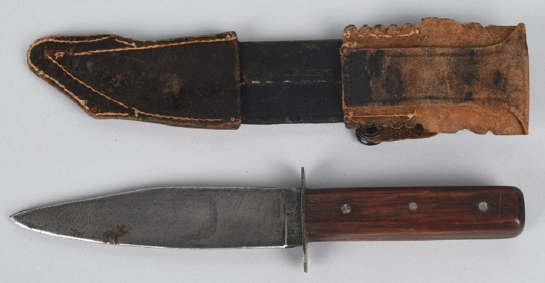 4-FIXED BLADE KNIVES with SHEATHES - 6