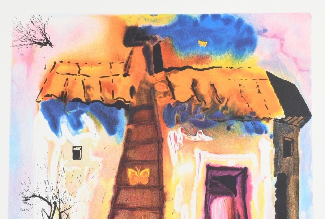 SALVADOR DALI THE RABBIT SEND IN A LITTLE BILL - 2