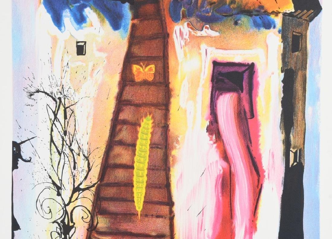 SALVADOR DALI THE RABBIT SEND IN A LITTLE BILL - 3