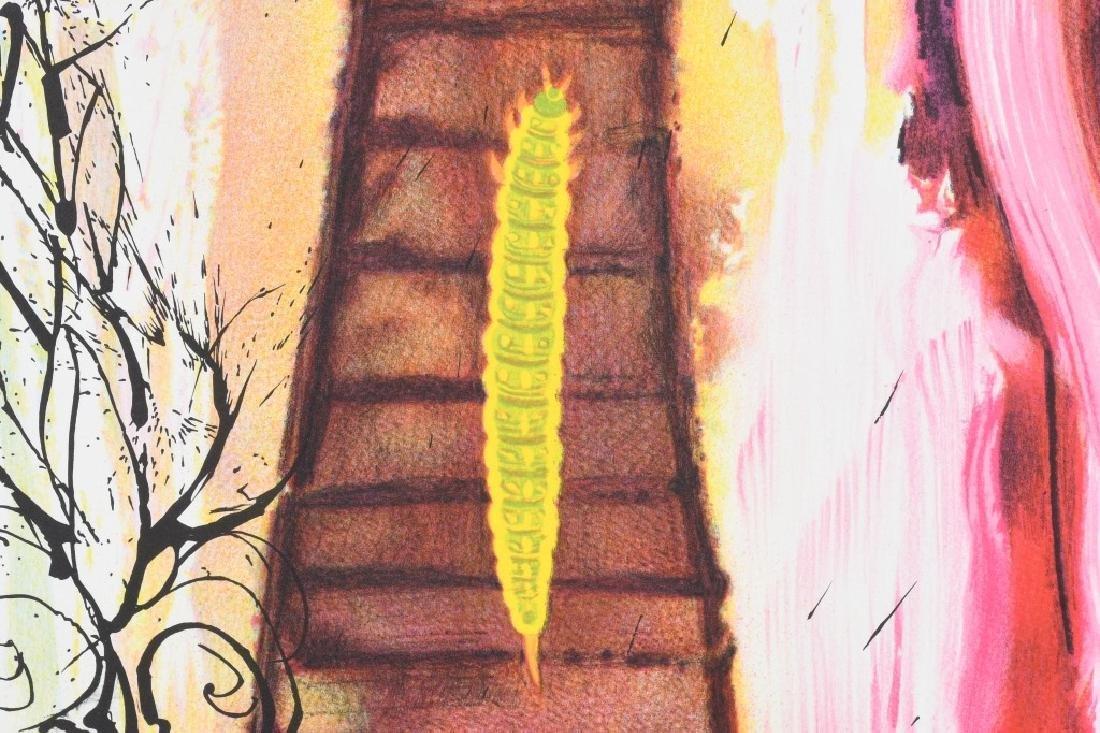 SALVADOR DALI THE RABBIT SEND IN A LITTLE BILL - 9