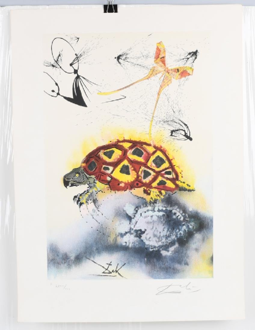 SALVADOR DALI THE MOCK TURTLE'S STORY