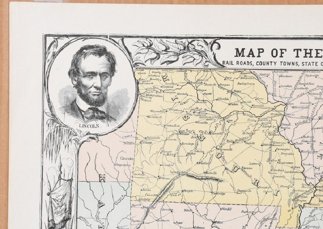 1863 HARPER'S SOUTHERN STATES MAP - 5