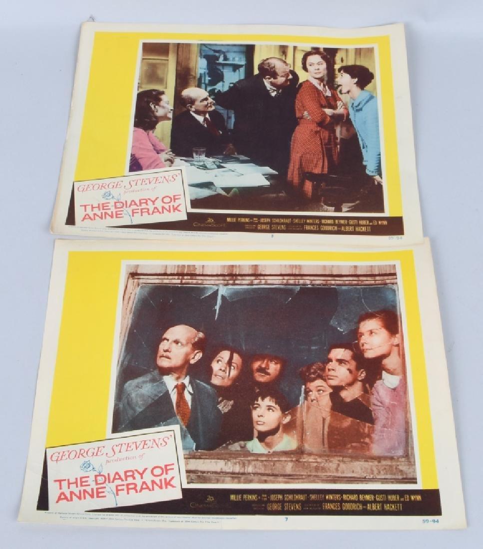25- 1950s-60s MOVIE LOBBY CARDS - 8
