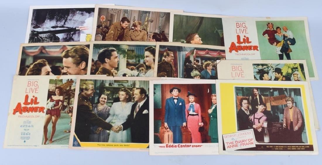 25- 1950s-60s MOVIE LOBBY CARDS