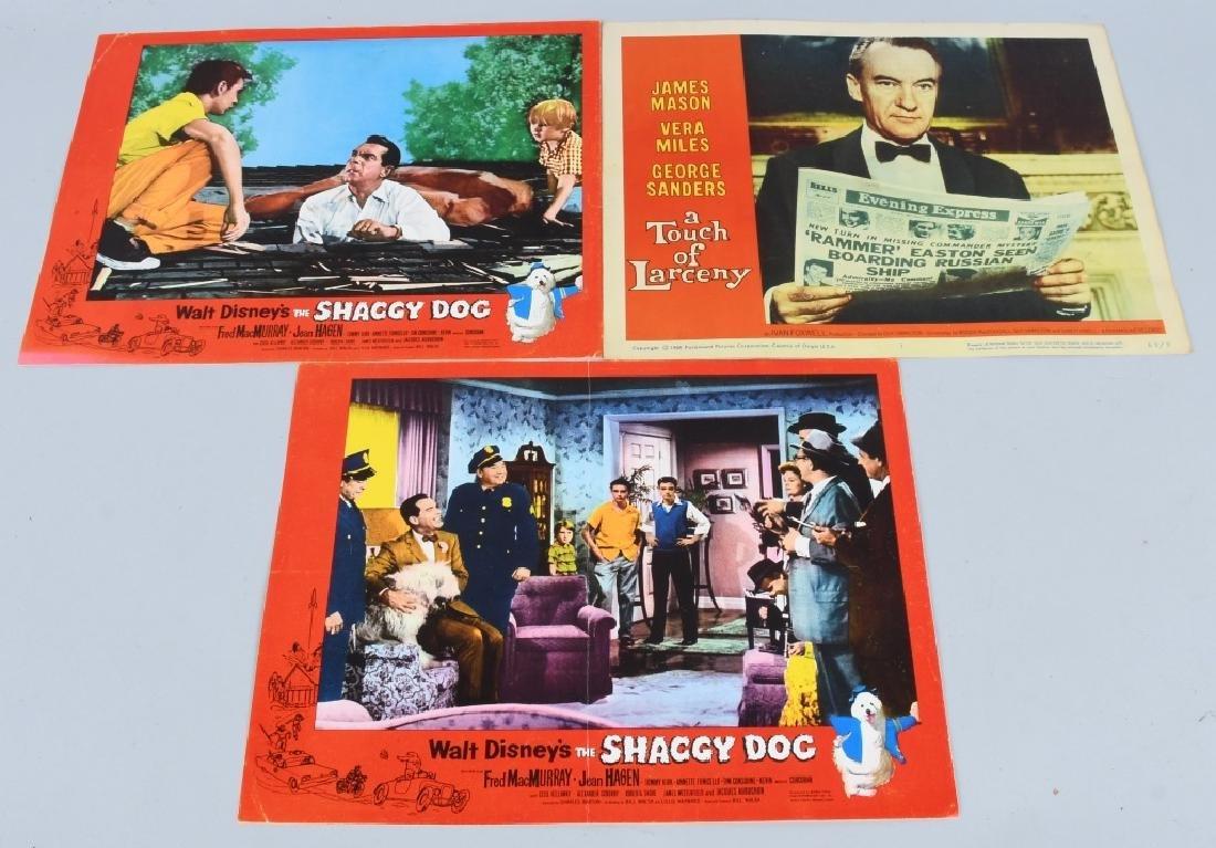 23- 1950s-60s MOVIE LOBBY CARDS - 4