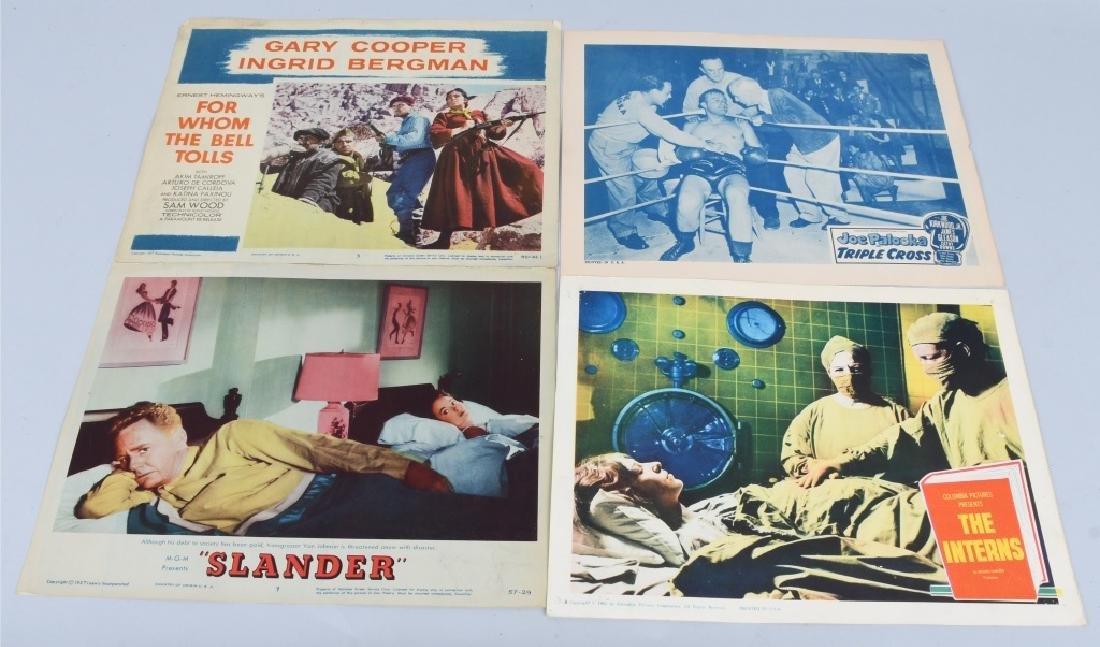 23- 1950s-60s MOVIE LOBBY CARDS - 6