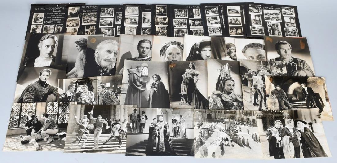 50-1936 MGM ROMEO & JULIET MOVIE STILL PHOTOS