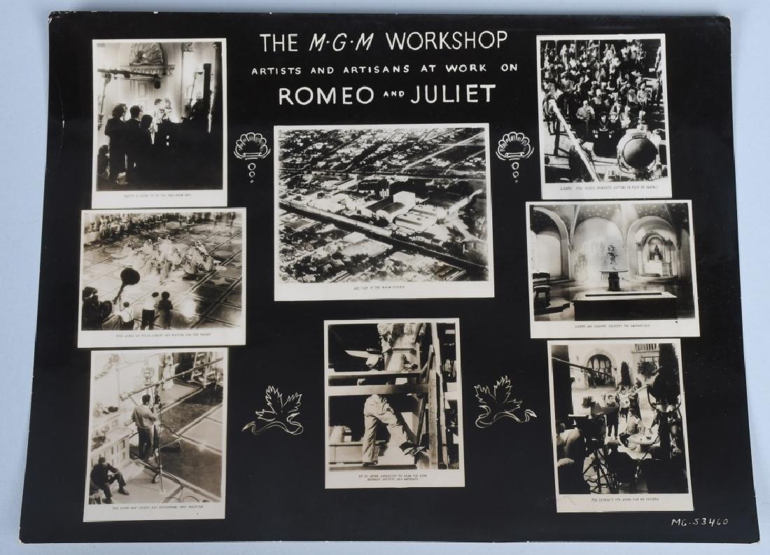 50-1936 MGM ROMEO & JULIET MOVIE STILL PHOTOS - 5