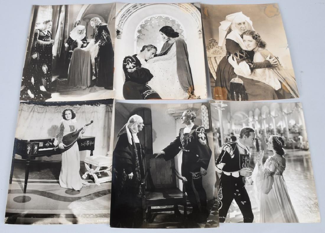 50-1936 MGM ROMEO & JULIET MOVIE STILL PHOTOS - 8