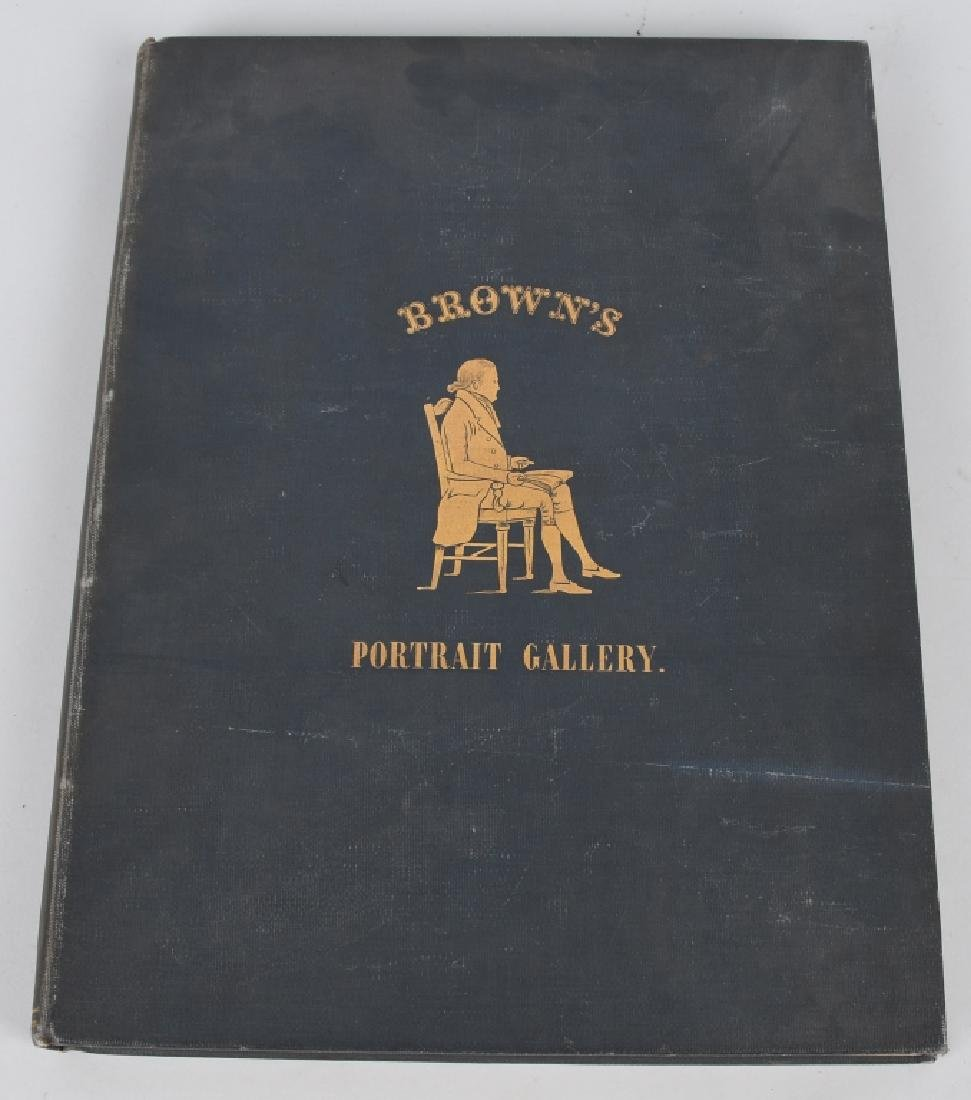 1931 BROWN'S PORTRAIT GALLERY BOOK 1 of 600