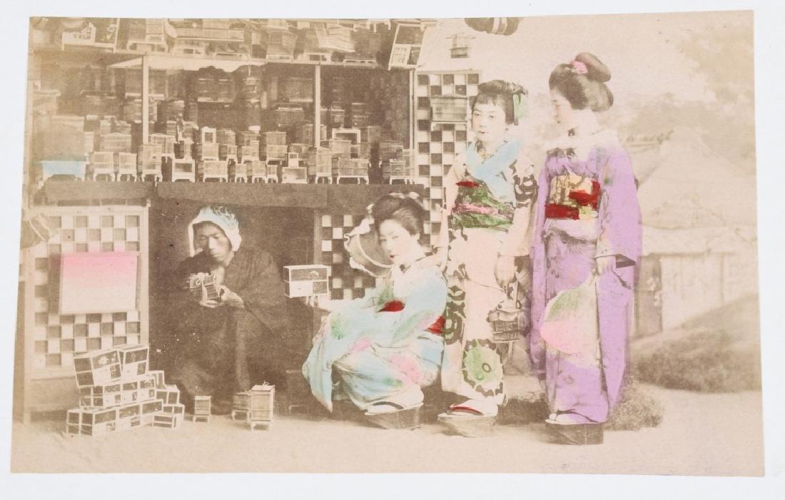50- 1880s JAPAN HAND TINTED PHOTOS - 10