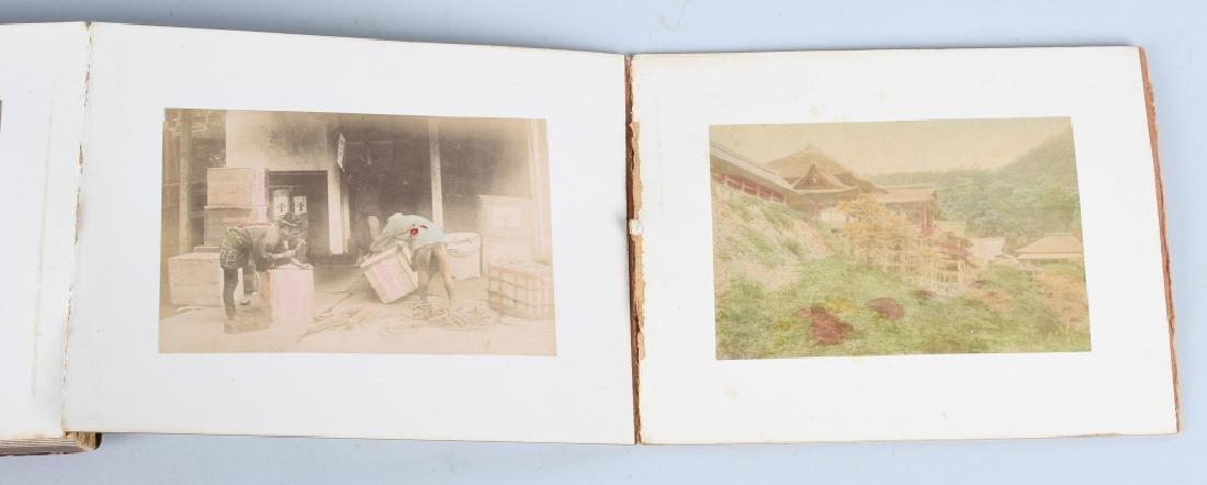 50- 1880s JAPAN HAND TINTED PHOTOS - 2