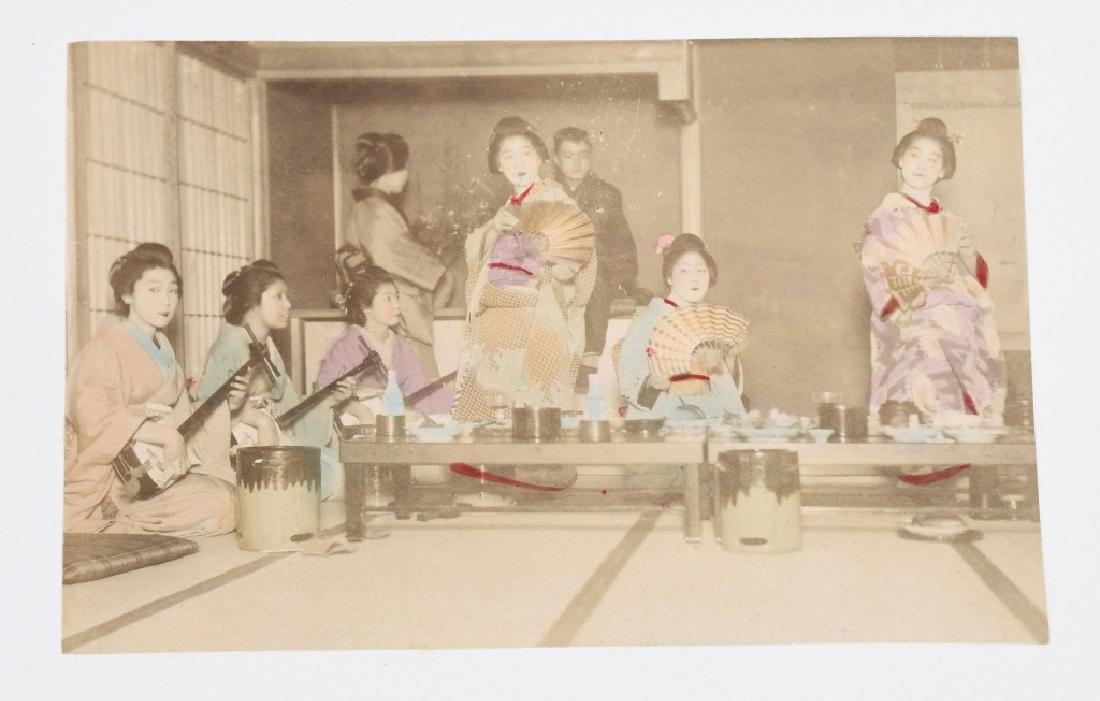 50- 1880s JAPAN HAND TINTED PHOTOS - 3