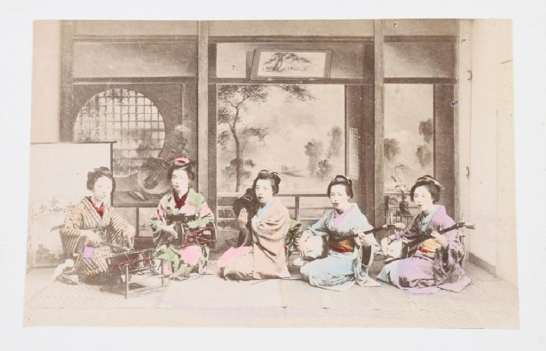 50- 1880s JAPAN HAND TINTED PHOTOS - 5
