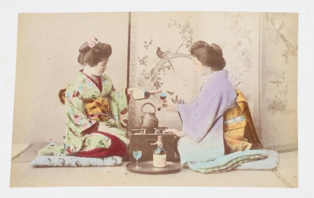 50- 1880s JAPAN HAND TINTED PHOTOS - 6