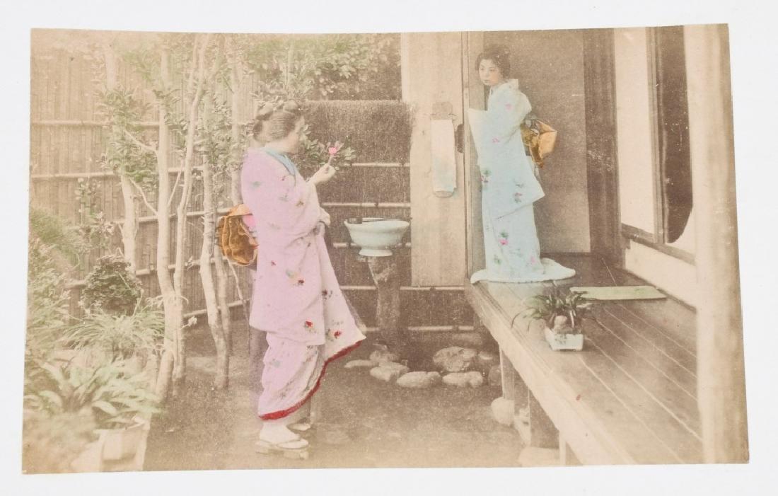 50- 1880s JAPAN HAND TINTED PHOTOS - 8