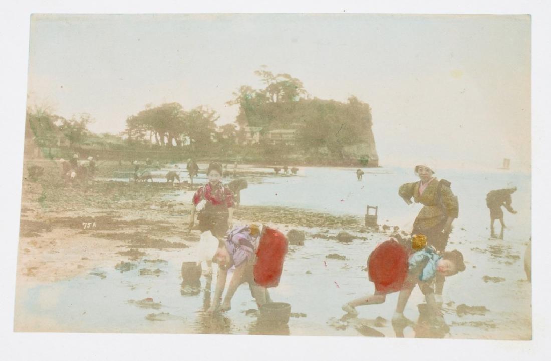 50- 1880s JAPAN HAND TINTED PHOTOS - 9