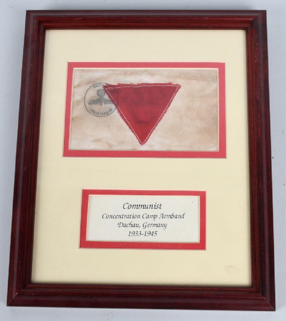 WWII COMMUNIST CONCENTRATION CAMP ARMBAND
